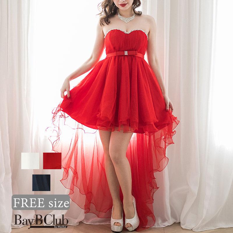 エンパイアチュールロングドレス